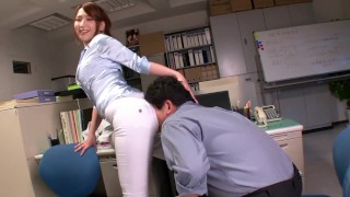 Ai Sayama uncensored Screw Oild White Booty